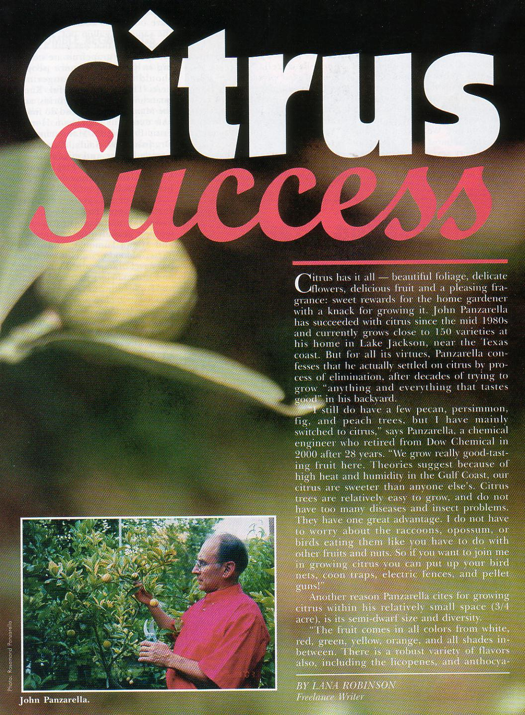 Texas Gardener, Sept/Oct. 2003
